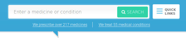 Find a treatment online : effective medecine for your condition